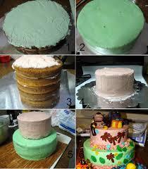 jungle theme cake nitha kitchen jungle theme 2 tier birthday cake complete cake