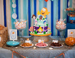 Bubble Guppies Decorations Under The Sea Birthday
