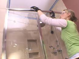 sliding glass doors hard to open installing a glass shower door how tos diy