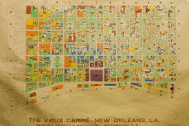 In And Out Map The Collins C Diboll Vieux Carré Survey Maps Page