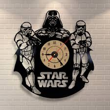 Star Wars Home Decorations by Online Buy Wholesale Star Wars Clock Wall From China Star Wars