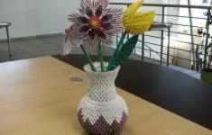 Origami 3d Flower Vase New Fabulous Origami Boxes Pdf
