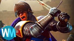 The Top Five Most Controversial Video Games Of All Time - top 10 games with amazing first person melee combat youtube