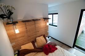 bardage bois chambre tete de lit moderne en bois mzaol com