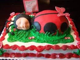 ladybug baby shower flower garden baby shower cakes butterflies and ladybugs