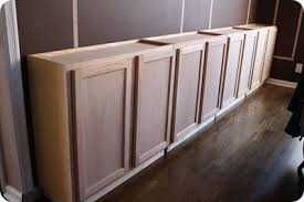 Using Wall Cabinets As Base Cabinets One Of The Common Ideas In The