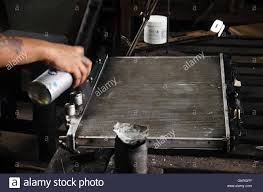 thai people use color spray paint boiler after fix and solder