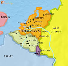 map netherlands belgium map of the low countries at 1914ad timemaps