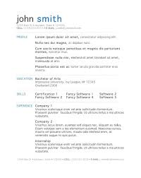 Resume Examples Word Doc by Surprising Resume Examples Word 5 7 Free Templates Cv Resume Ideas
