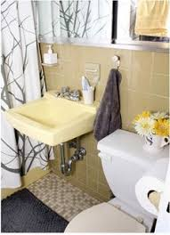 yellow tile bathroom ideas cheap charming our 51 bathroom makeover simple