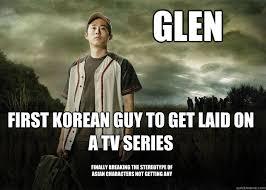 Glenn Meme - walking dead glenn memes quickmeme