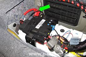 bmw 520i battery location bmw e90 battery replacement e91 e92 e93 pelican parts diy