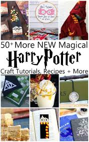 50 more magical harry potter projects book lists harry potter