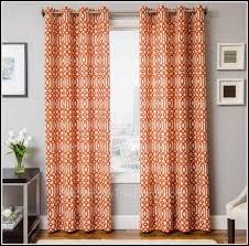 Orange And White Curtains Orange And White Curtains Home Design Ideas And Pictures