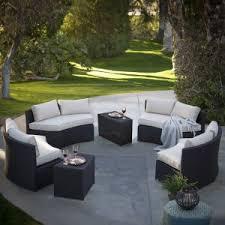 Patio Furniture With Sunbrella Cushions Sunbrella Cushions Conversation Patio Sets Hayneedle