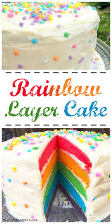 rainbow layer cake recipe sprint 2 the table
