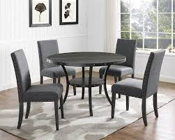 Gray Dining Room Amazon Com Roundhill Furniture D162gy Biony Dining Collection