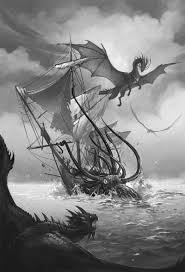 temeraire and gang vs kraken by sandara on deviantart