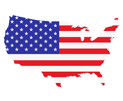 United States Map Outline by American Flag Usa Map Outline