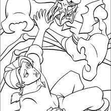 treasure planet 20 coloring pages hellokids