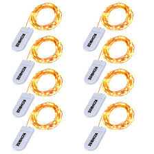 copper wire lights battery kohree 8 pack led string lights copper wire lights battery operated