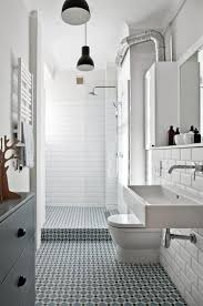 Modern Vintage Bathroom 31 Retro Black White Bathroom Floor Tile Ideas And Pictures In