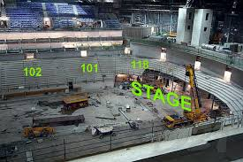 echo arena liverpool seating plan layout the venue echo arena