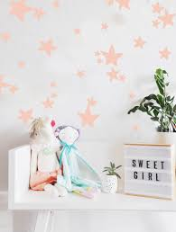 unicorn face wall decal neapolitan house dreamy star wall decals