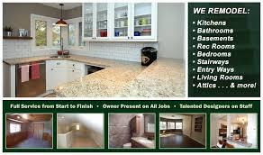 Interior Design Jobs Wisconsin by Stone Leaf Remodeling Kitchen Remodeling Bathroom Remodeling