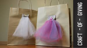 tulle bags how to make tulle dress gift bags craft of giving