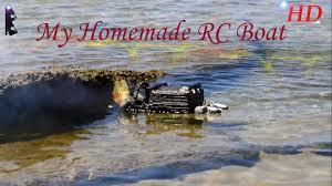 Radio Control Model Boat Magazine Badirus 9 My Homemade Rc Boat Youtube