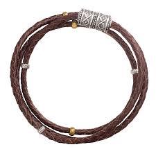 leather sterling bracelet images Silpada 39 multi purpose 39 genuine leather wrap bracelet in sterling jpg