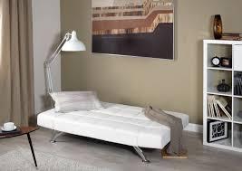 White Leather Sofa Bed Uk Buy Serene Venice Orchid White Faux Leather Sofa Bed Cfs Uk