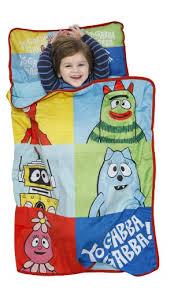 Yo Gabba Gabba Bed Set Yo Gabba Gabba Nap Mat Brobee Muno Slumber Roll