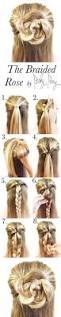 18 half up half down hairstyle tutorials perfect for prom half