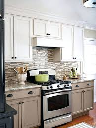 taupe kitchen cabinets with black countertops for sale white