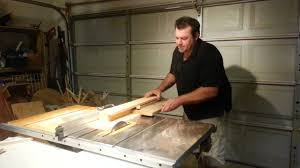 can you use a table saw as a jointer simple jig turns tablesaw into jointer youtube