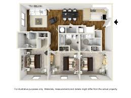 Spacious 3 Bedroom House Plans Abbotts Run Apartment Floor Plans Wilmington Nc Wilmington Nc