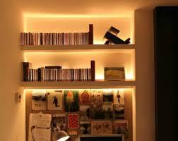 Adjustable Bookcase Strips Led Strip Light Shelf Google Search Desing Pinterest