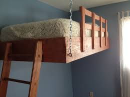 Suspended Bed by I Built A Suspended Loft Bed For My Son U0027s Room Album On Imgur