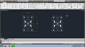 autocad 2013 2d drafting basics part 26 simple rug design