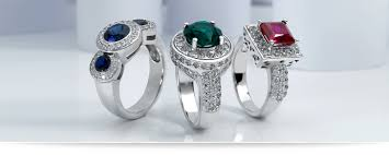 color stones rings images Color stone rings unique settings of new york jpg