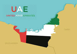 uae map uae map vector boundary free vector stock graphics