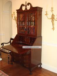 secretary desk with bookcase antique drop front secretary desk with bookcase desk