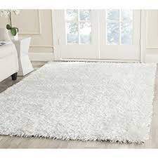 White Area Rug Safavieh New Orleans Shag Collection Sg531 1111