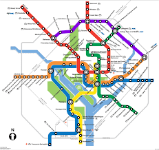 dc metro rail map here s the right way to transit and density work in the