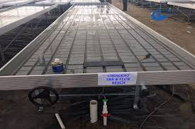 Metal Greenhouse Benches Sideways Rolling Benching Greenhouse Accesories Benches Premium