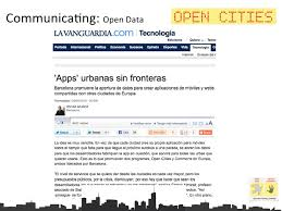 Challenge Para Que Es Open Cities Challenge Carles Ferreiro