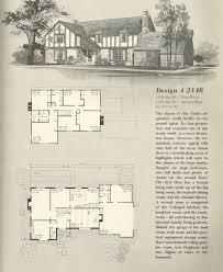 Tudor Style Home Plans by Vintage House Plans 2148 Antique Alter Ego