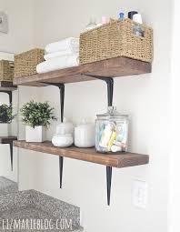 bathroom shelves ideas 22 best baños images on wooden bathroom shelves home
